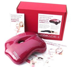 Lumbacurve back pain relief product